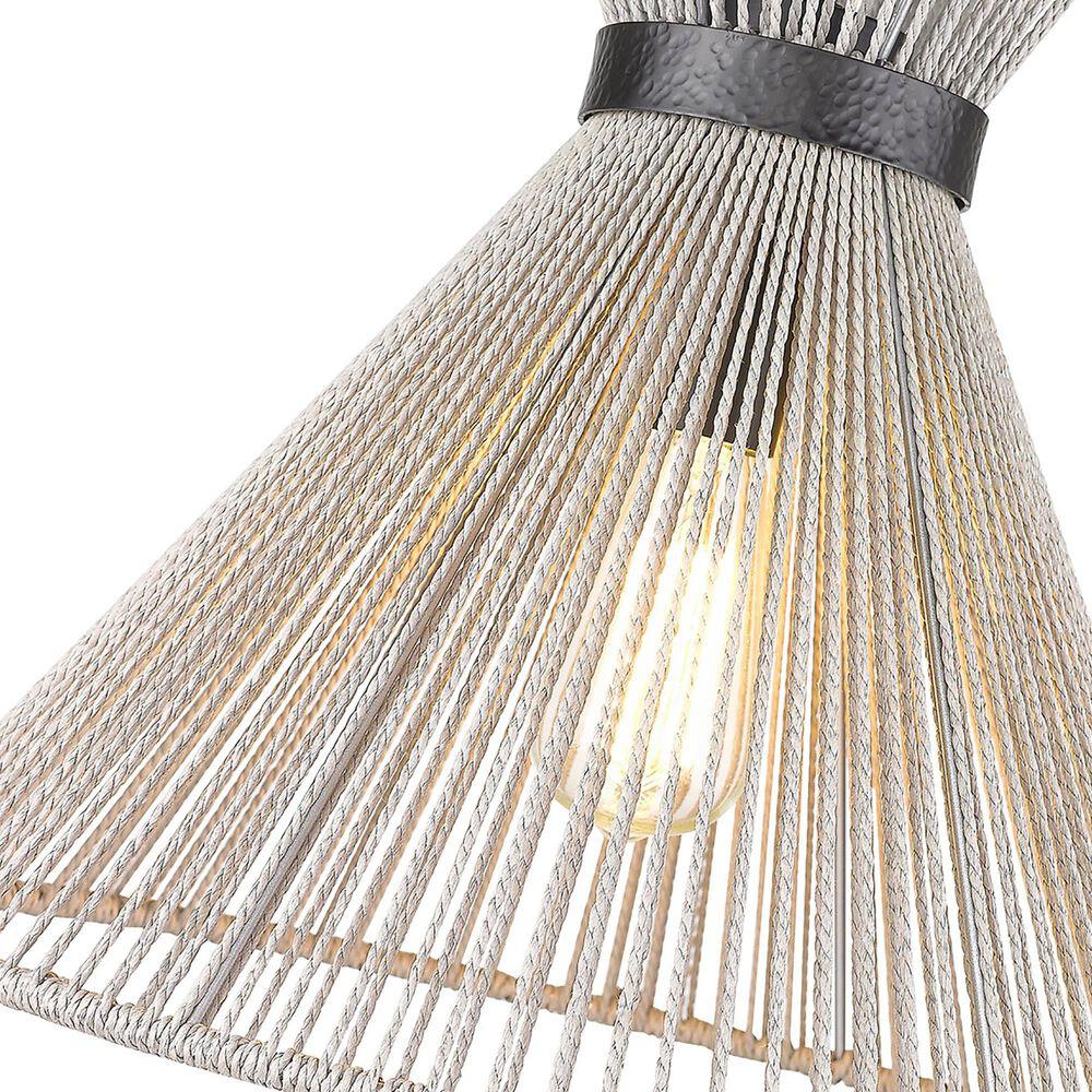 Golden Lighting Avon Medium Pendant in Matte Black, , large