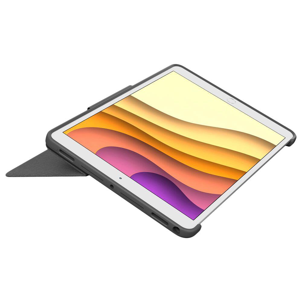 """Logitech Combo Touch Backlit Keyboard Case for iPad Air/ iPad Pro 10.5"""" in Graphite, , large"""