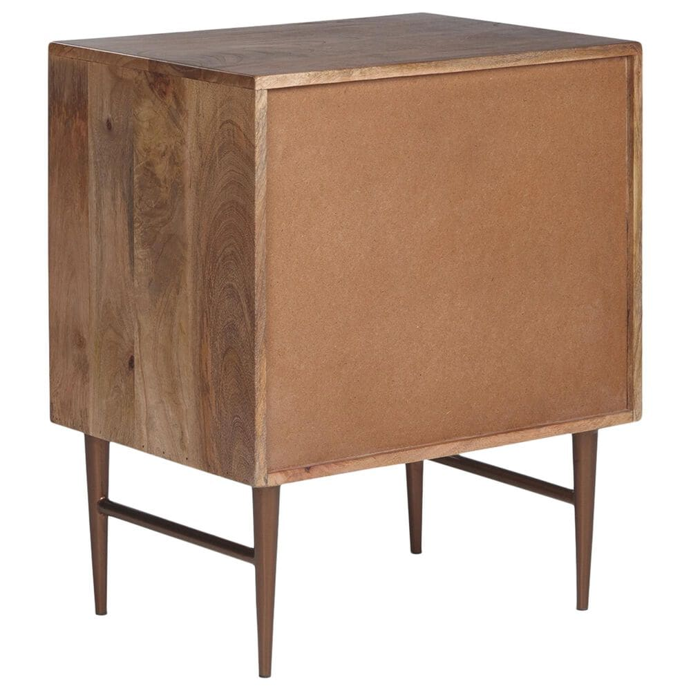 Signature Design by Ashley Dorvale Accent Cabinet in Brown, , large