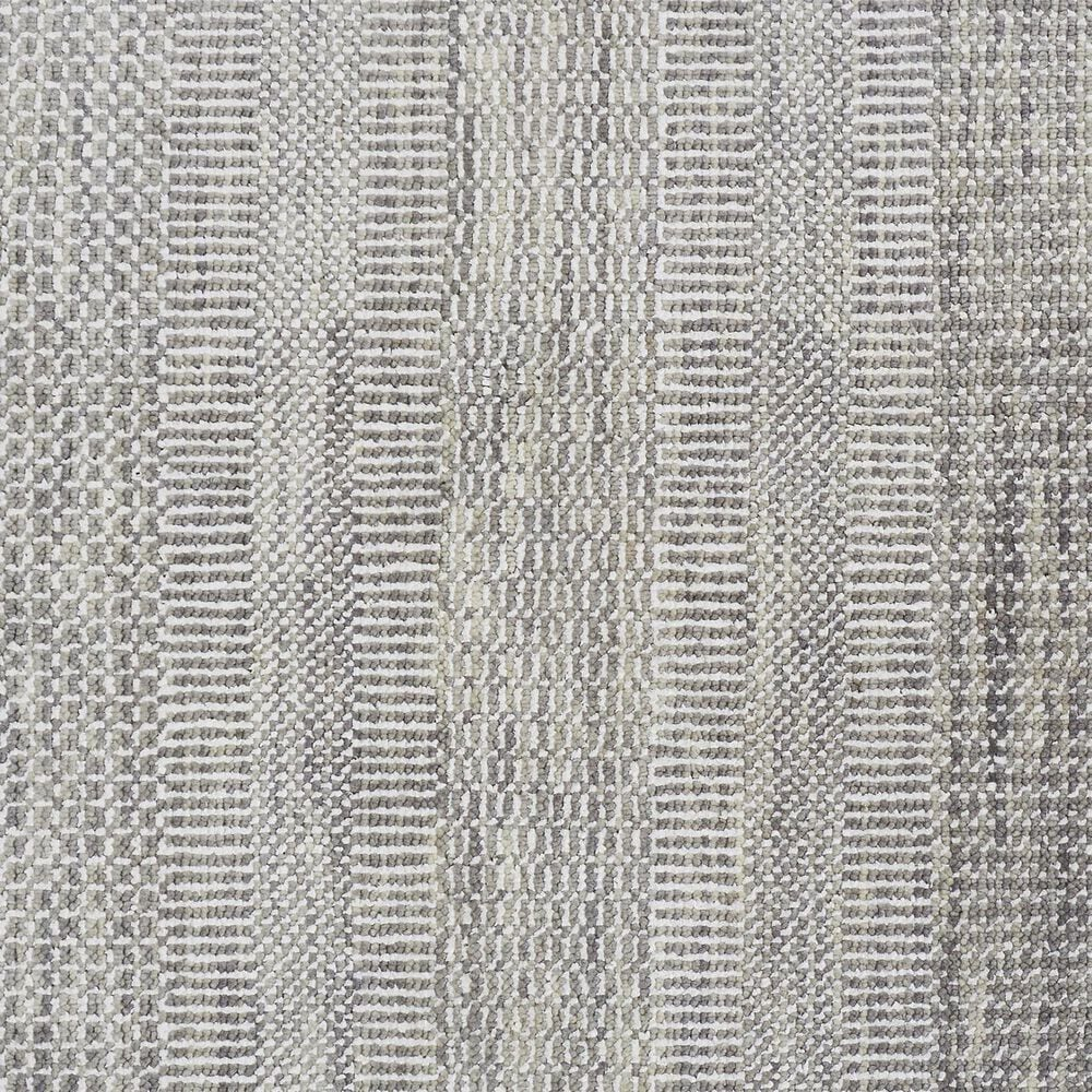 "Feizy Rugs Janson I6063 8'6"" x 11'6"" Gray and Silver Area Rug, , large"