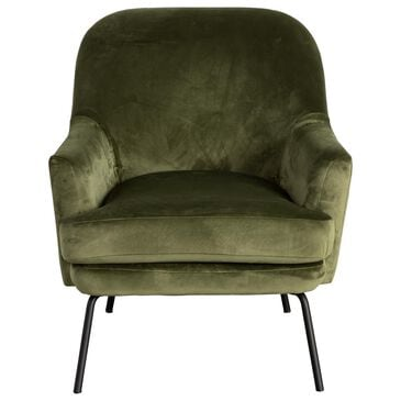 Signature Design by Ashley Dericka Accent Chair in Moss Green, , large