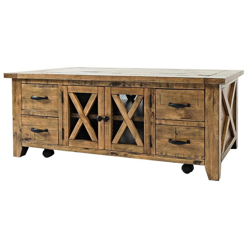 Waltham Telluride Cocktail Table in Brown, , large