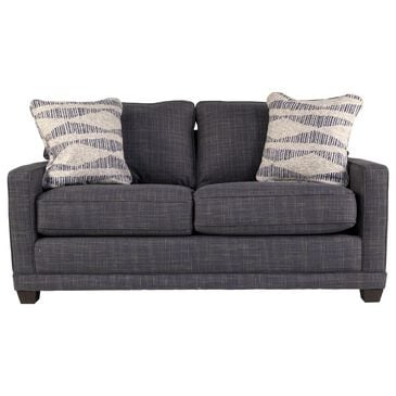 La-Z-Boy Kennedy Apartment Sofa in Navy, , large