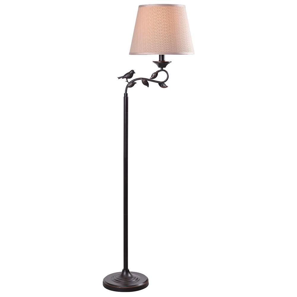Kenroy Birdsong Outdoor Floor Lamp in Oil Rubbed Bronze, , large