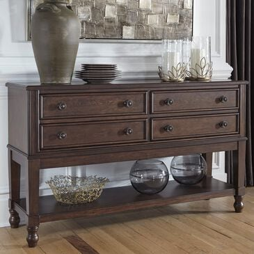 Signature Design by Ashley Adinton Dining Room Server in Reddish Brown, , large
