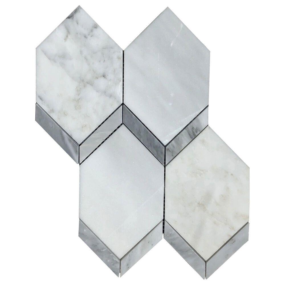 "Emser Intrigue Marble 11"" x 15"" Porcelain Mosaic Sheet, , large"