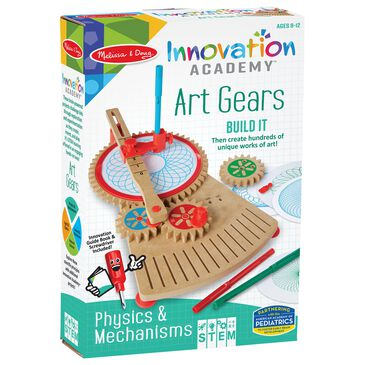 Melissa & Doug Innovation Academy Art Gears, , large