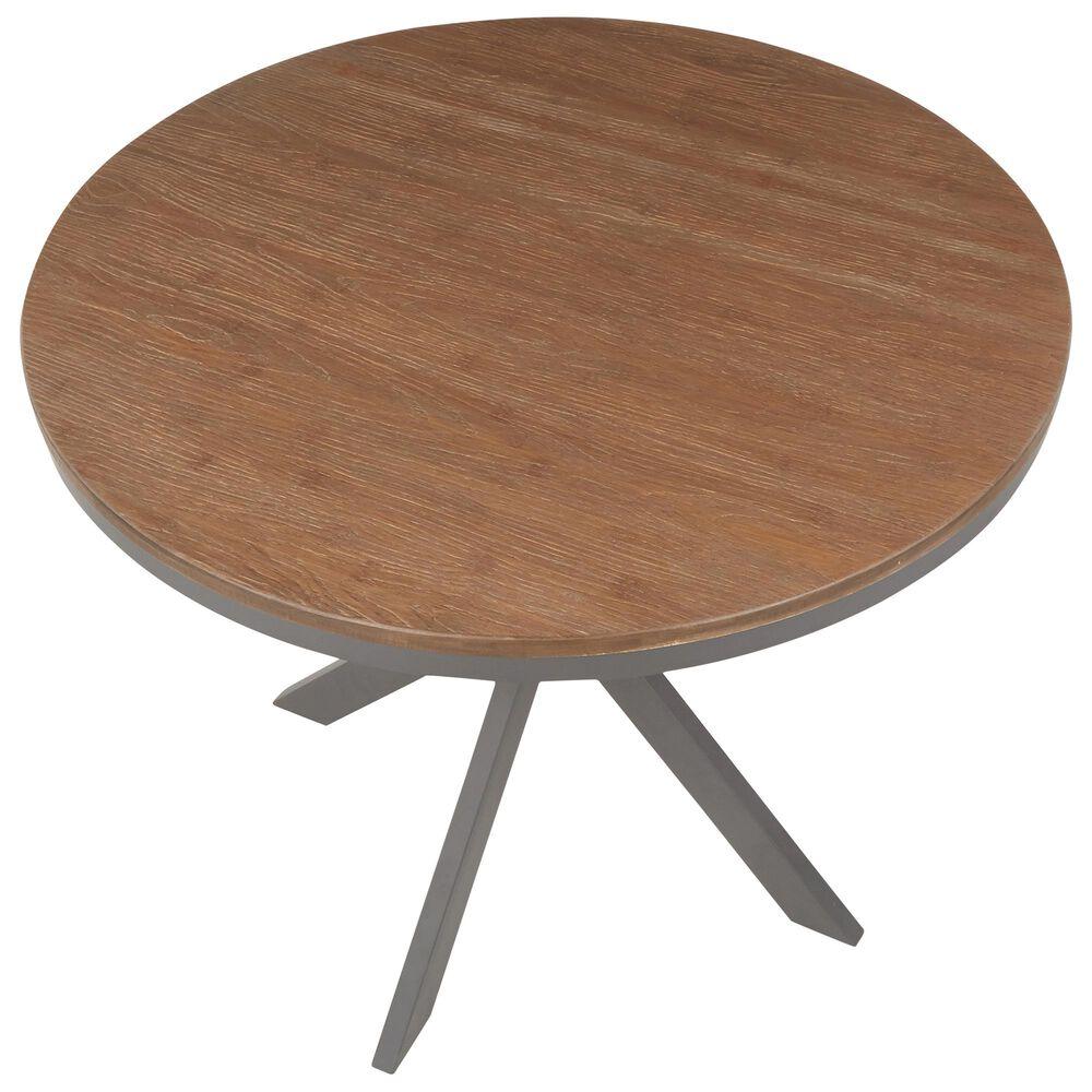 Lumisource Dakota Dinette Table in Brown/Grey, , large