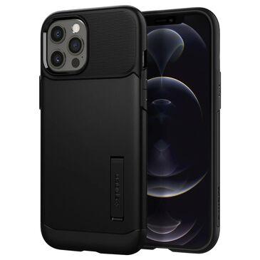 Spigen Slim Armor Case For Apple iPhone 12 Pro Max in Black, , large