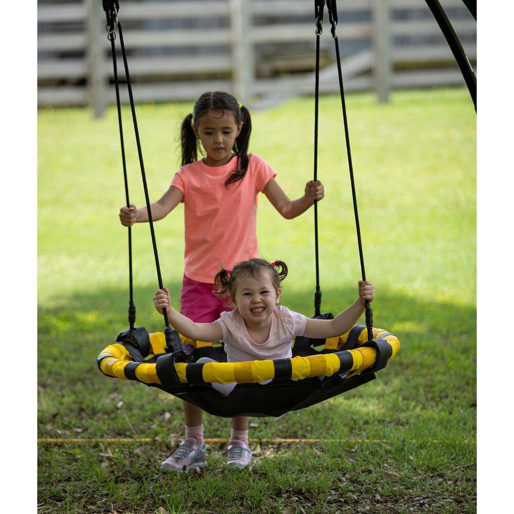 Jumpking Backyard UFO Multidirectional Twisting and Turning Swing, , large