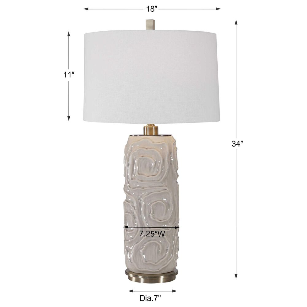 Uttermost Zade Table Lamp, , large