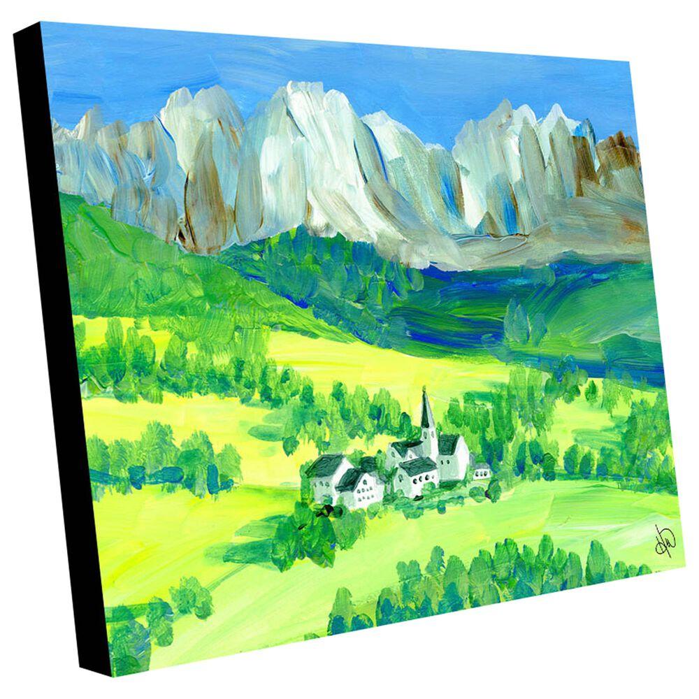 "Kathy Ireland Home ""Swiss Alps"" 30"" x 40"" Metal Wall Art Print, , large"