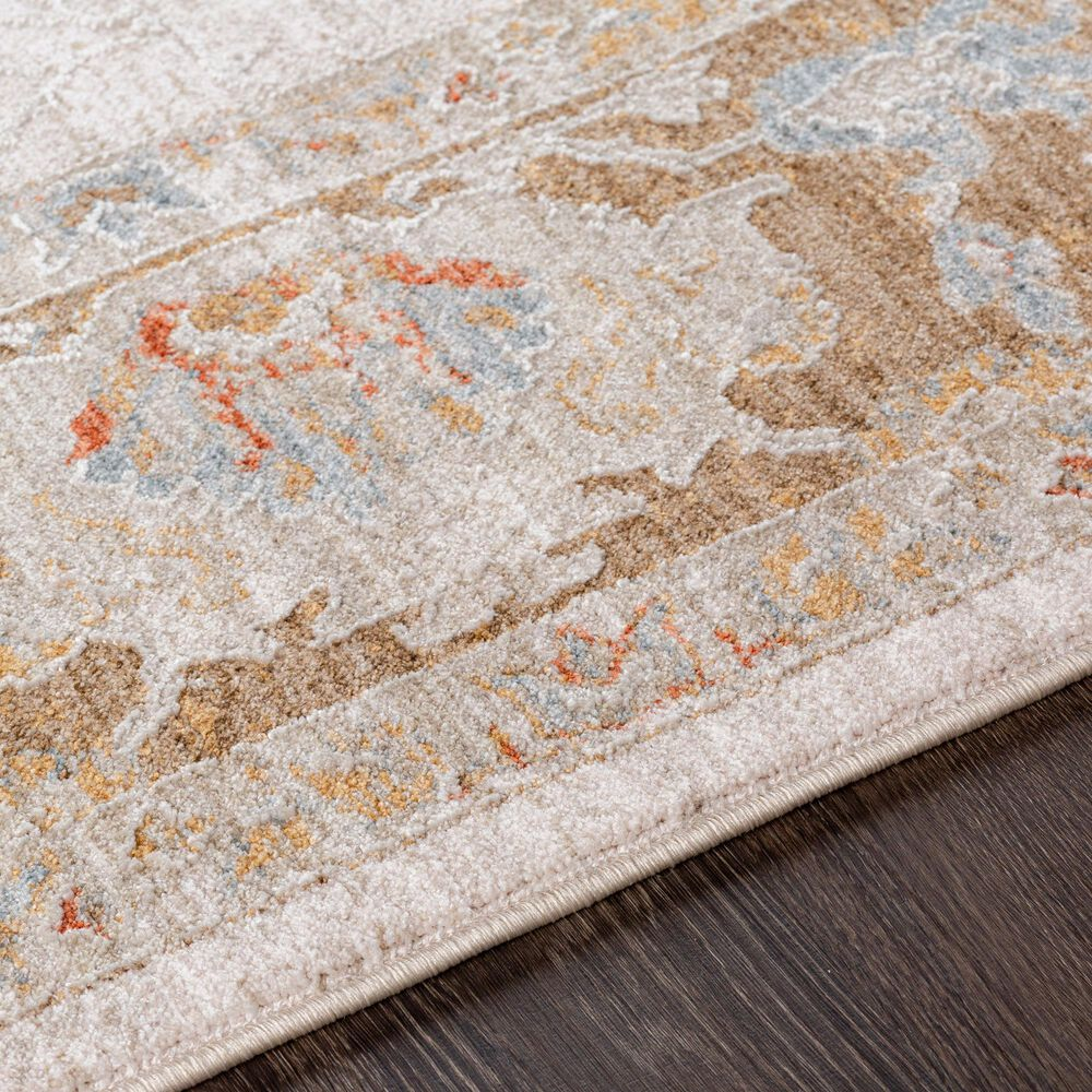 Surya Avant Garde 10' x 14' Orange, Blue and Beige Area Rug, , large