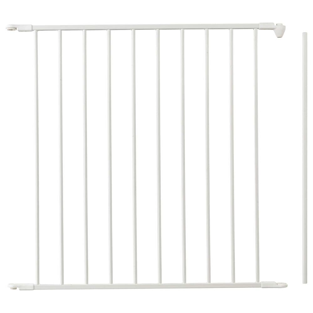 """LA Baby 28.4"""" Extension Panel for Flex Gate in White, , large"""