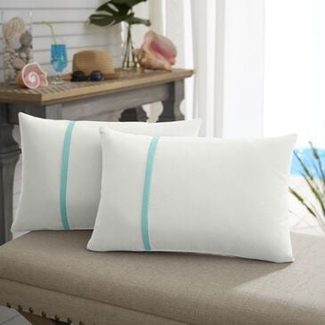 """Sorra Home Sunbrella 12"""" x 24"""" Pillow in Canvas Natural (Set of 2), , large"""