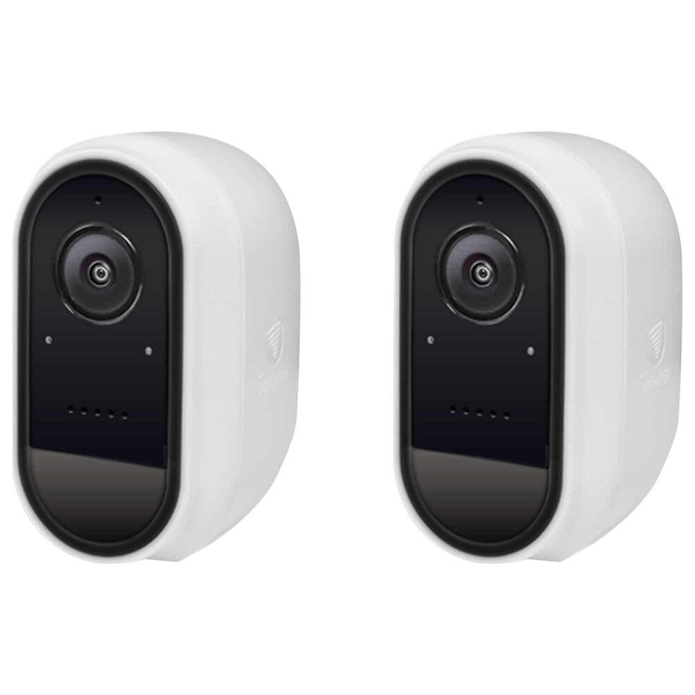 Swann 2-Pack 1080p Wire-Free Indoor/Outdoor Security Camera in White, , large