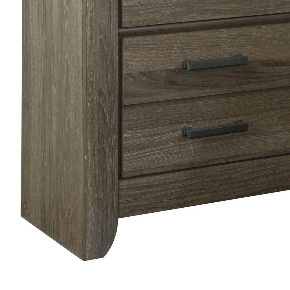 Signature Design by Ashley Zelen 4 Piece Queen Bedroom Set in Warm Gray, , large