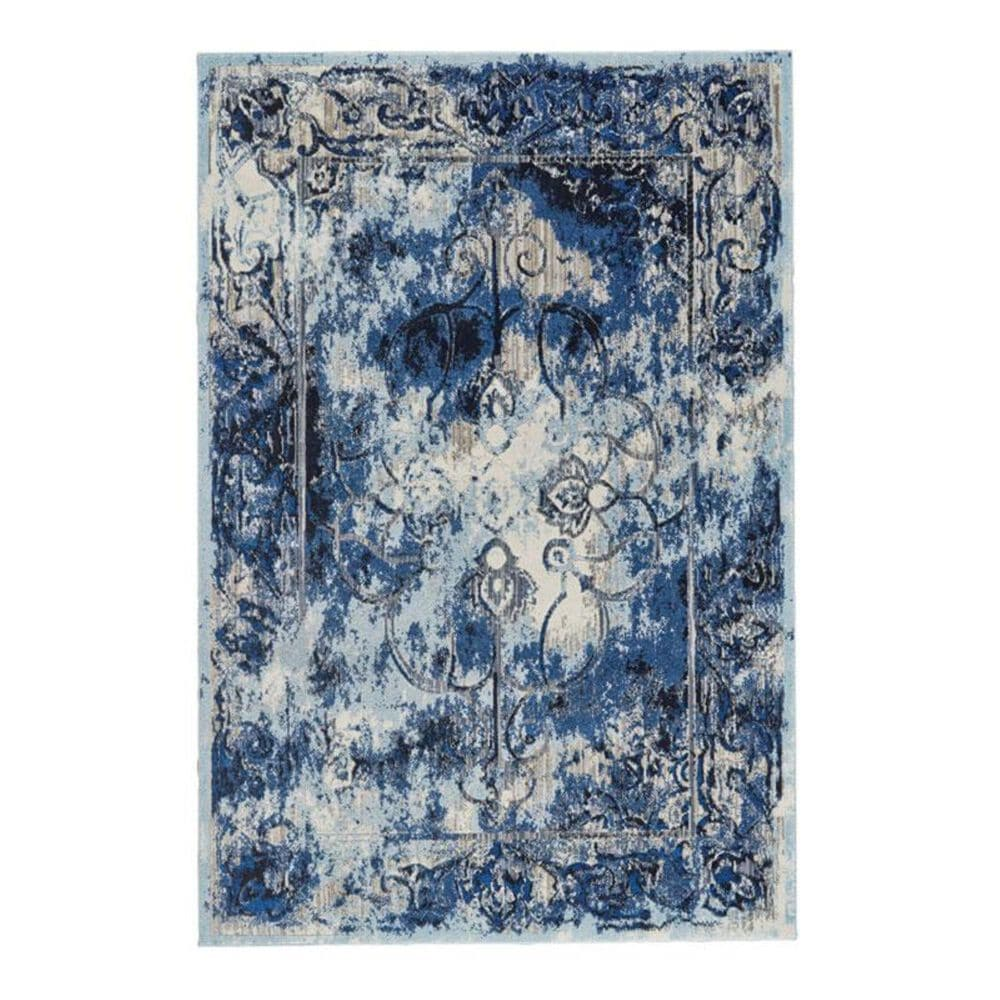 """Feizy Rugs Milton 3471F 2'7"""" x 8' Thundercloud Runner, , large"""