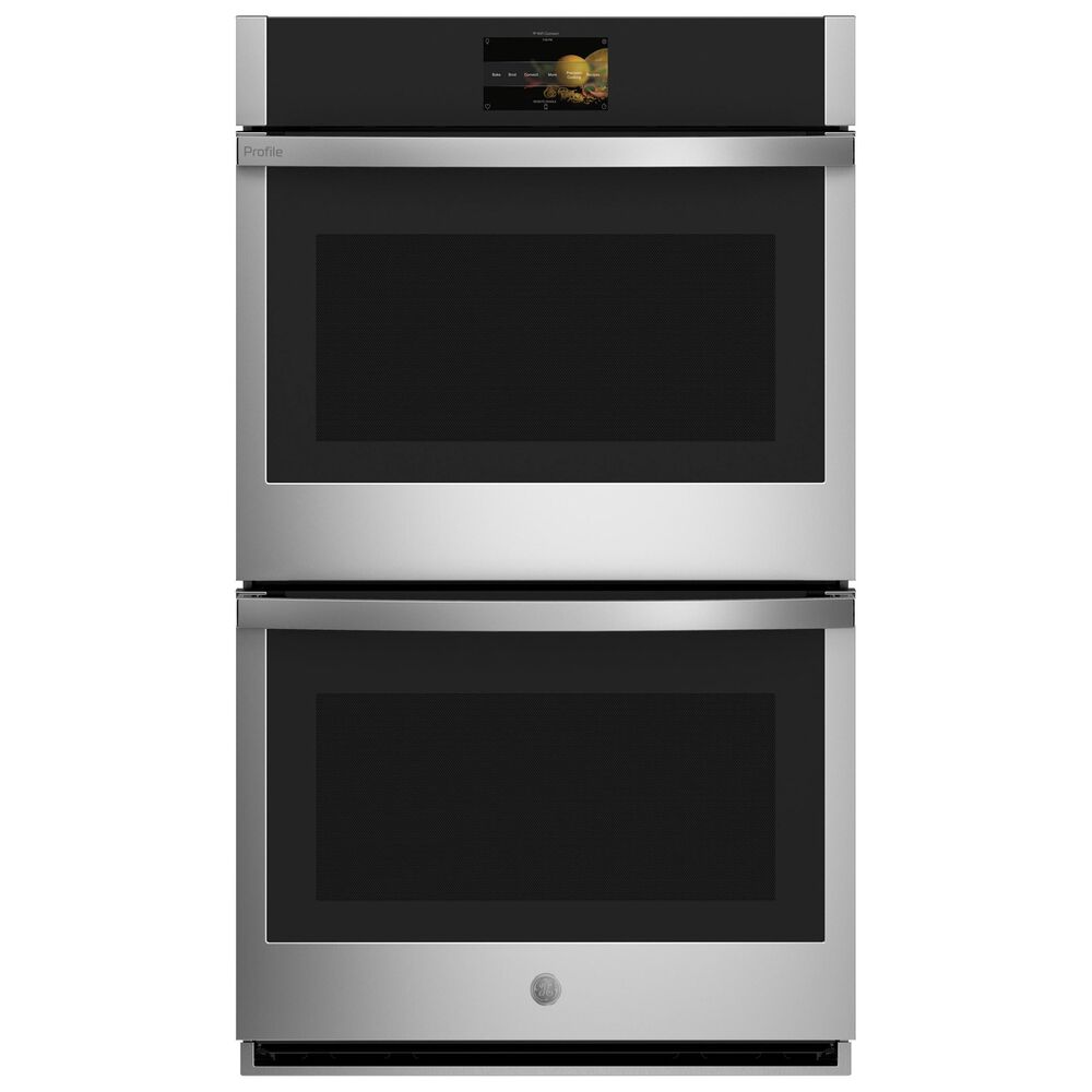 """GE Profile 36"""" Electric Cooktop with 30"""" Convection Double Wall Oven in Stainless Steel, , large"""