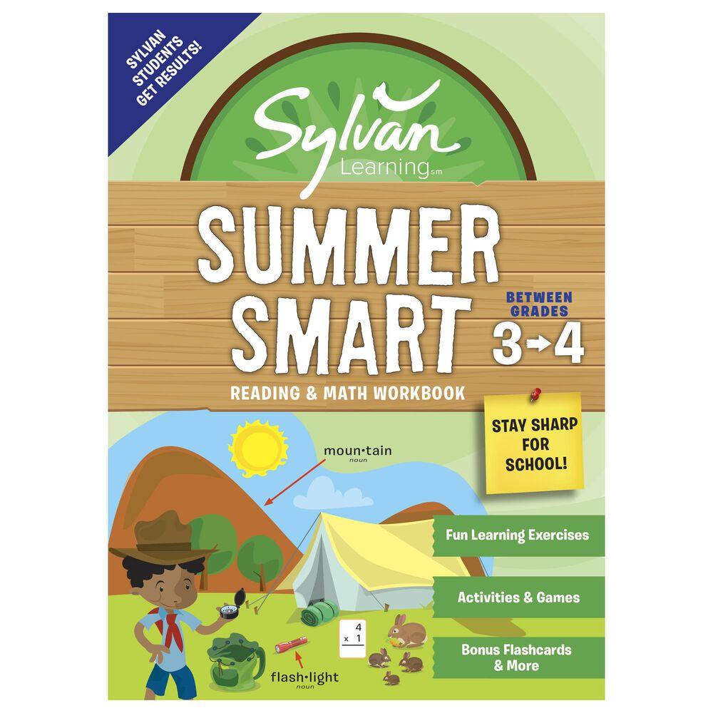 Sylvan Summer Smart Workbook: Between Grades 3 & 4, , large