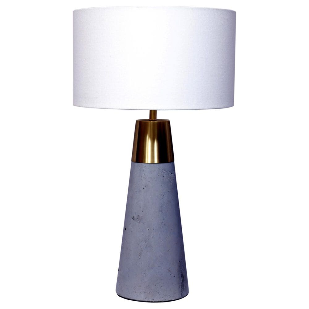 Moe's Home Collection Renny Table Lamp in Grey, , large