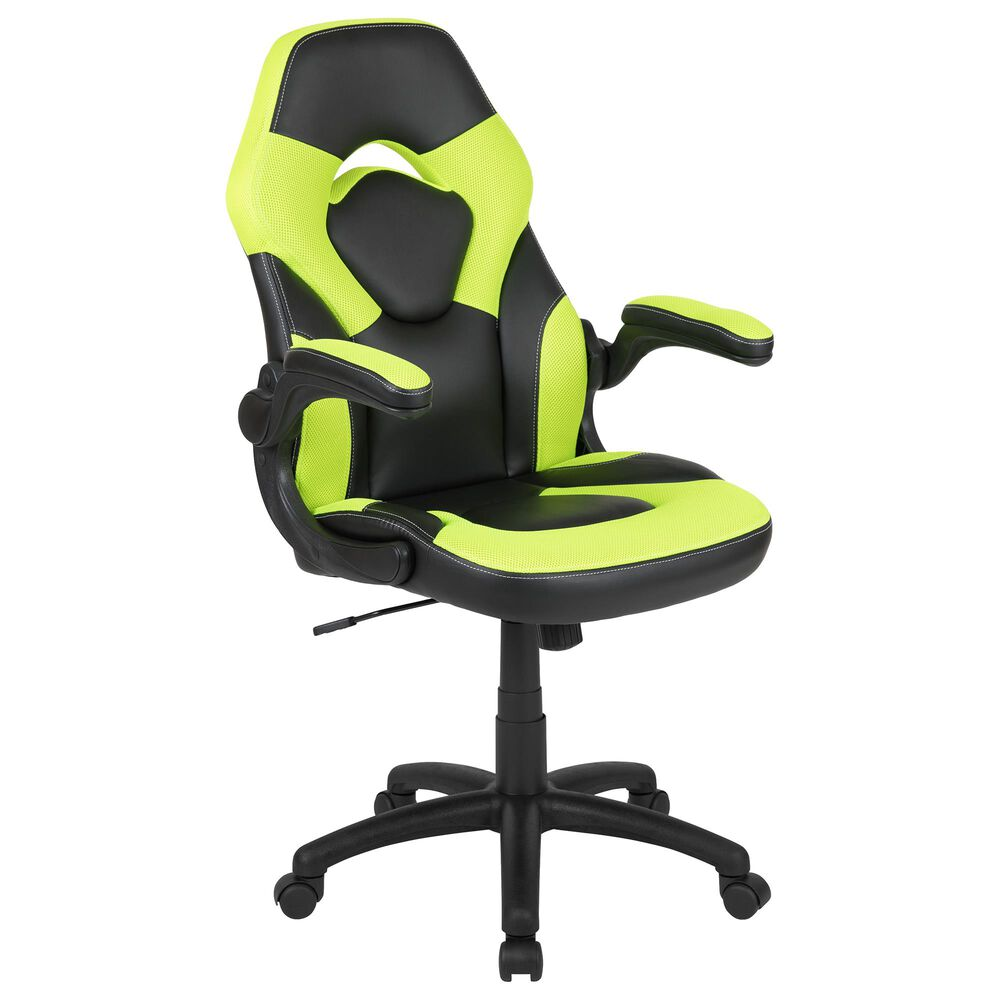 Flash Furniture X10 Gaming Chair in Green, , large