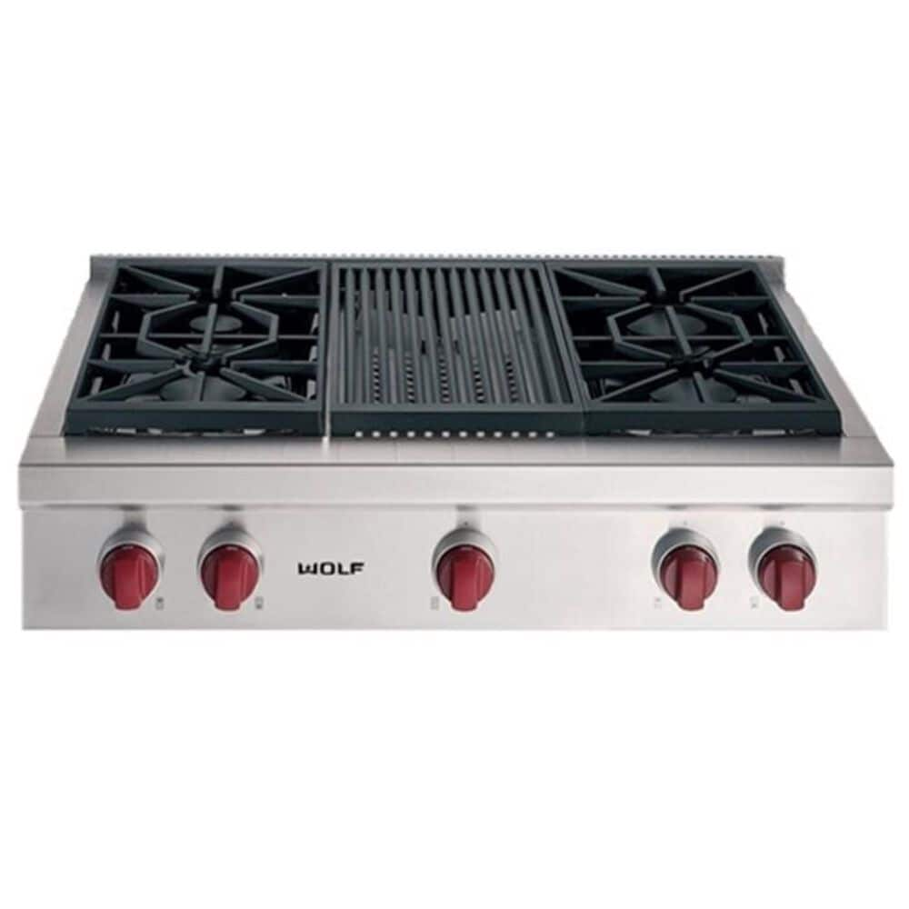 "Wolf 36"" Sealed Burner Rangetop, , large"