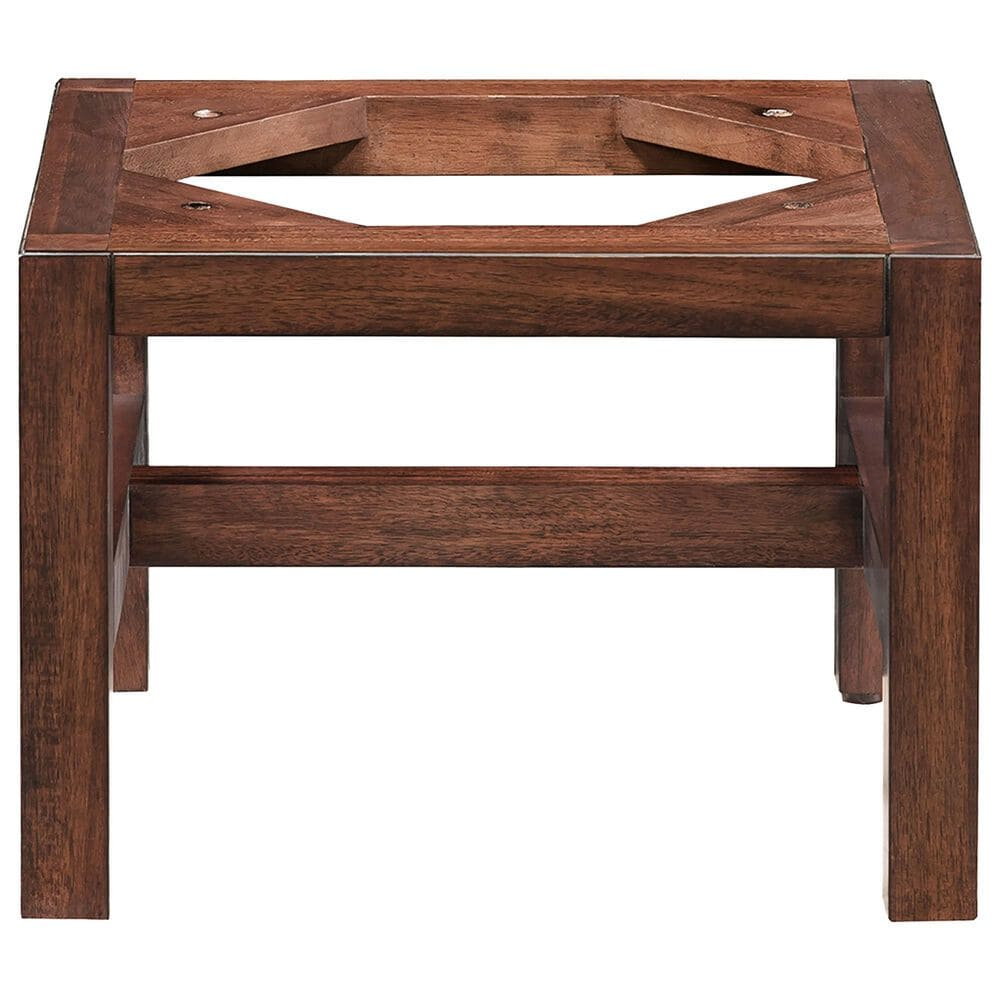 """James Martin Addison 12"""" Wooden Stand for Grand Tower Hutch in Mid Century Acacia, , large"""
