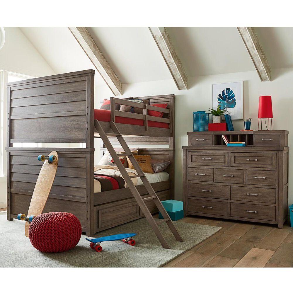 Legacy Classic Bunkhouse Trundle / Storage Drawer in Aged Barnwood, , large