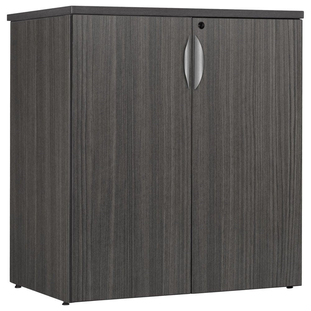 "Regency Global Sourcing Legacy 35"" Stackable Storage Cabinet in Ash Grey, , large"
