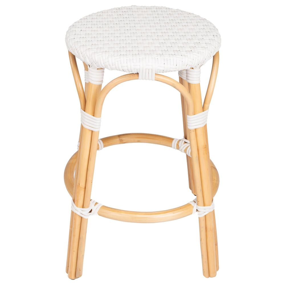 Butler Tobias Counter Stool in White, , large