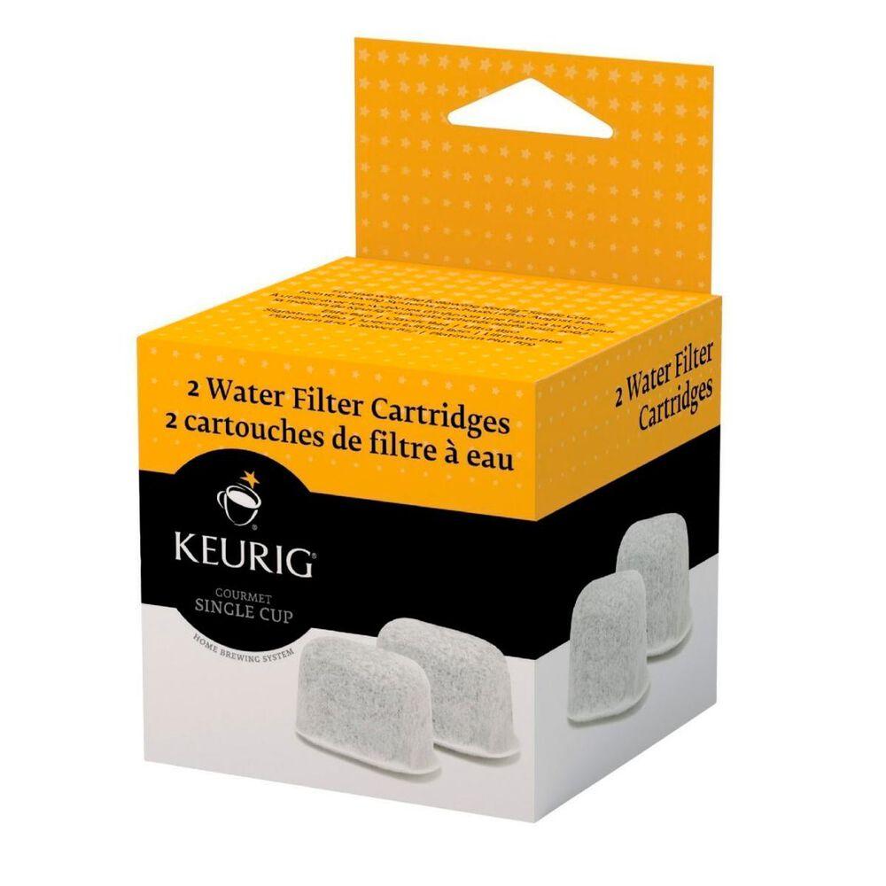 Keurig 2 Pack Water Filter Cartridge, , large
