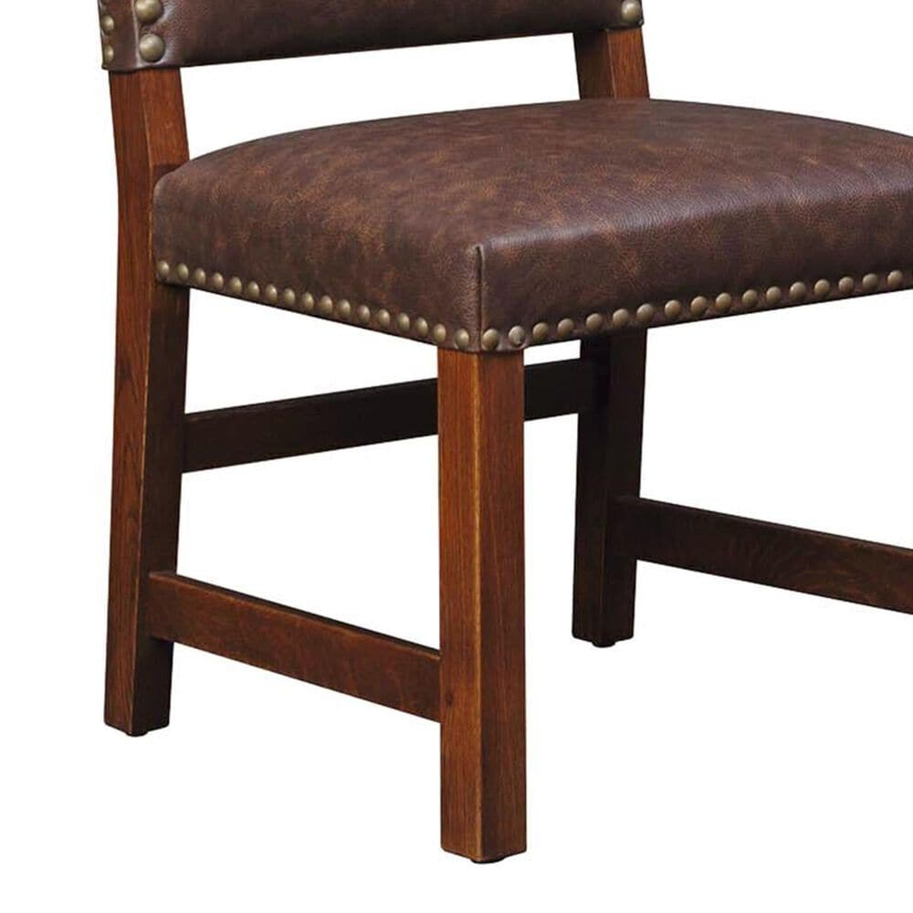 Stickley Furniture Mission Tall Back Upholstered Side Chair in Manlius, , large