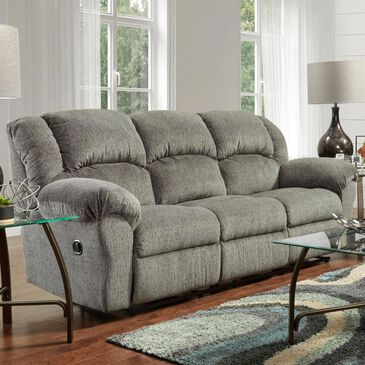 Arapahoe Home Manual Reclining Sofa in Allure Grey, , large