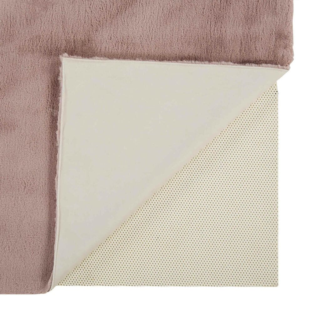 """Feizy Rugs Luxe Velour 6'7"""" x 9'6"""" Pink Area Rug, , large"""