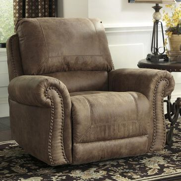 Signature Design by Ashley Larkinhurst Manual Rocker Recliner in Earth, , large
