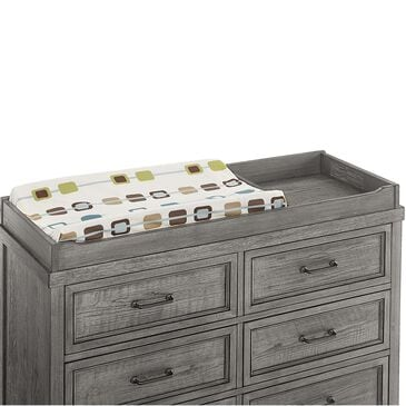Eastern Shore Foundry Changing Tray in Brushed Pewter, , large