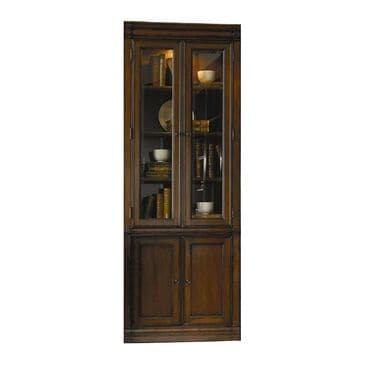 "Hooker Furniture Cherry Creek 32"" Wall Curio Cabinet in Medium Brown, , large"
