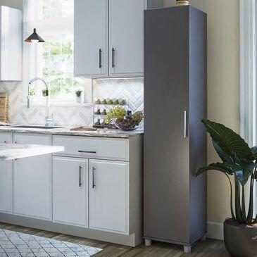 "Ameriwood Furniture Elmsworth 16"" Utility Storage Cabinet in Graphite Grey, , large"