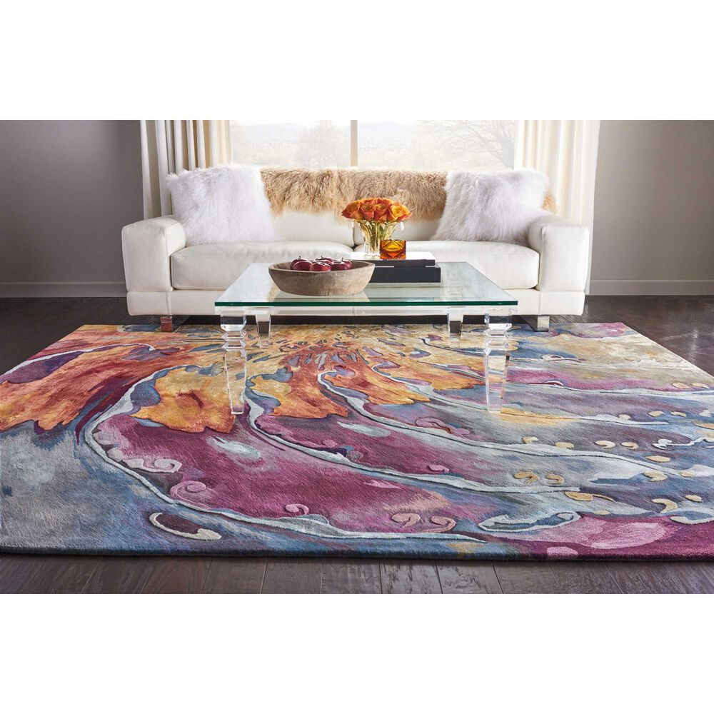"""Nourison Prismatic PRS08 8'6"""" x 11'6"""" Multicolor Area Rug, , large"""