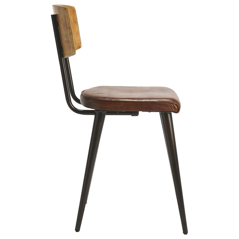 Butler Clark Side Chair in Medium Brown, , large