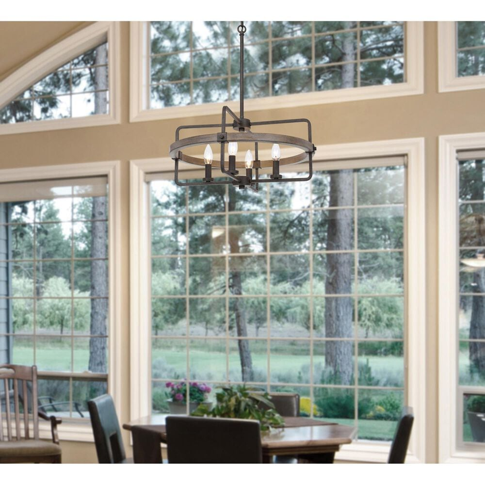 Cal Lighting Rawlins Chandelier in Blacksmith, , large