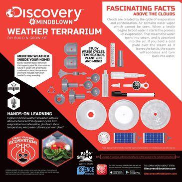 Discovery Mindblown DIY Weather Terrarium Build and Grow Kit, , large