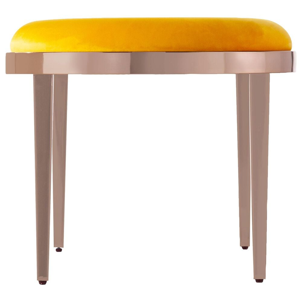 Southern Enterprises Bicknell Bench in Yellow/Champagne, , large