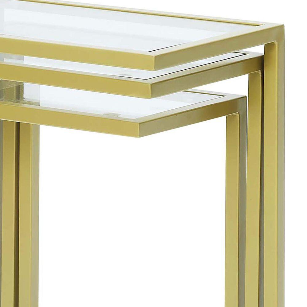 Carolina Cottage Addison Nesting Table Set in Gold, , large
