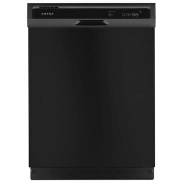 Amana Built-In Dishwasher with Triple Filter Wash System in Black, , large