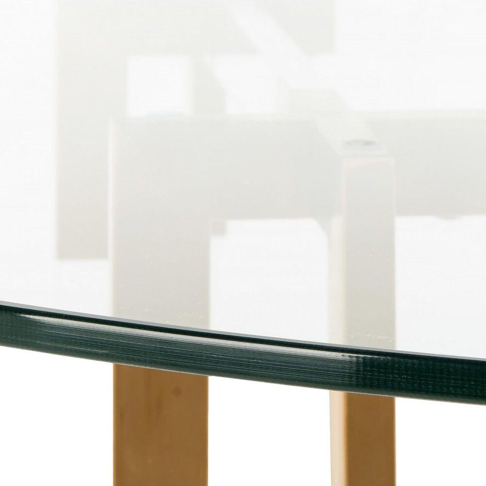 "Safavieh Koryn 42"" Dining Table in Brass, , large"