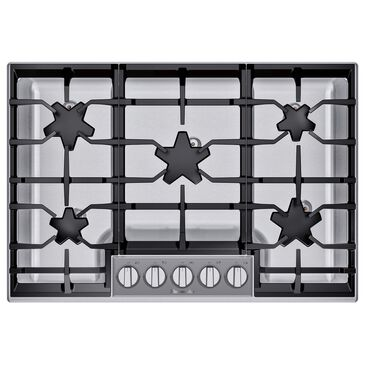 "Thermador 30"" Masterpiece Pedestal Star Burner Gas Cooktop - Stainless Steel, , large"