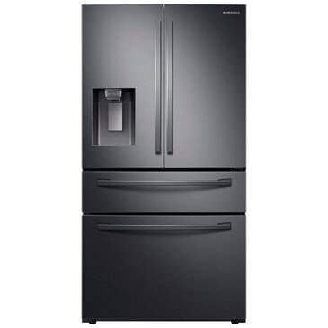 Samsung 4-Door French Door Refrigerator with Twin Cooling Plus in Black Stainless Steel , Black Stainless Steel, large