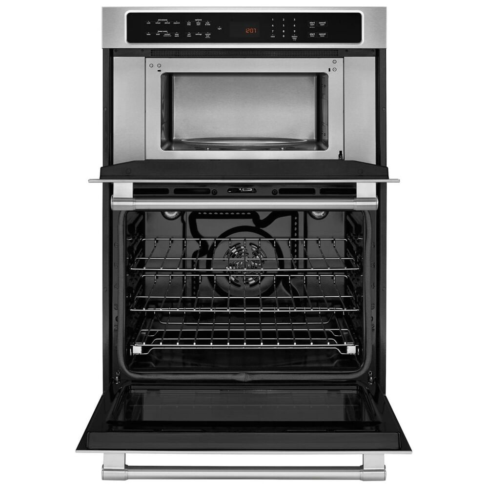 """Maytag 30"""" Combination Wall Oven with True Convection in Stainless Steel, , large"""